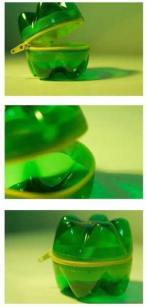 Руки дрюки Шкатулка-самоделка из пластиковой бутылки - Руки дрюки